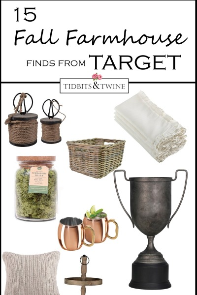 15 Favorite Fall Farmhouse Finds – From Target