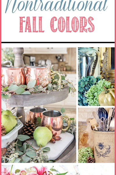 5 Tips For Fall Decorating with Nontraditional Colors