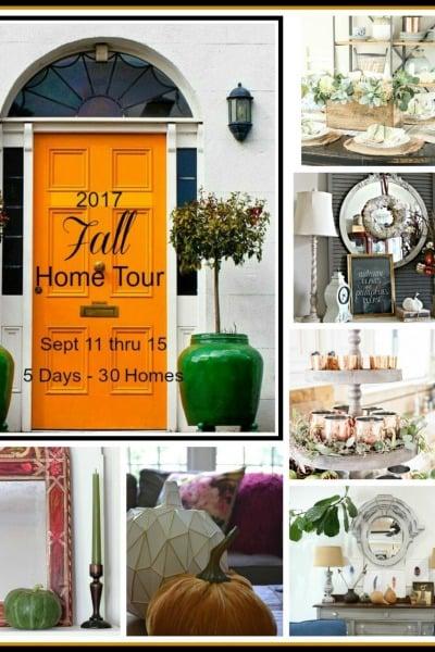 Fall Home Tours 2017