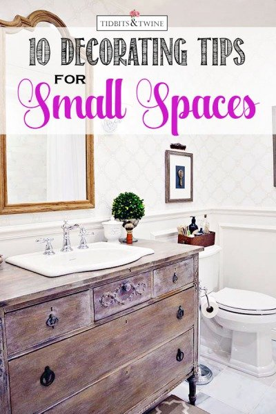 10 Smart Tips for Decorating a Small Space