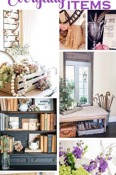 Budget Decorating with 5 Everyday Items