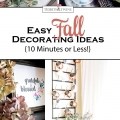 Easy Ideas for Fall Decorating