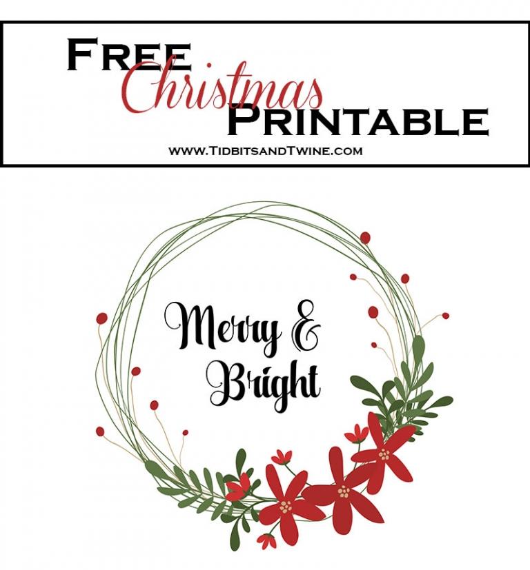 Free Christmas Printable!