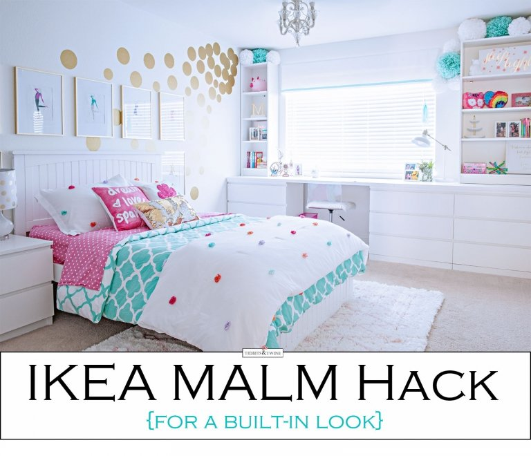 IKEA Hack – For a Built-In Look