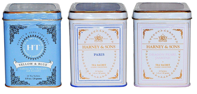 Harney & Sons Tea Sampler Set Hostess Gift Under $25