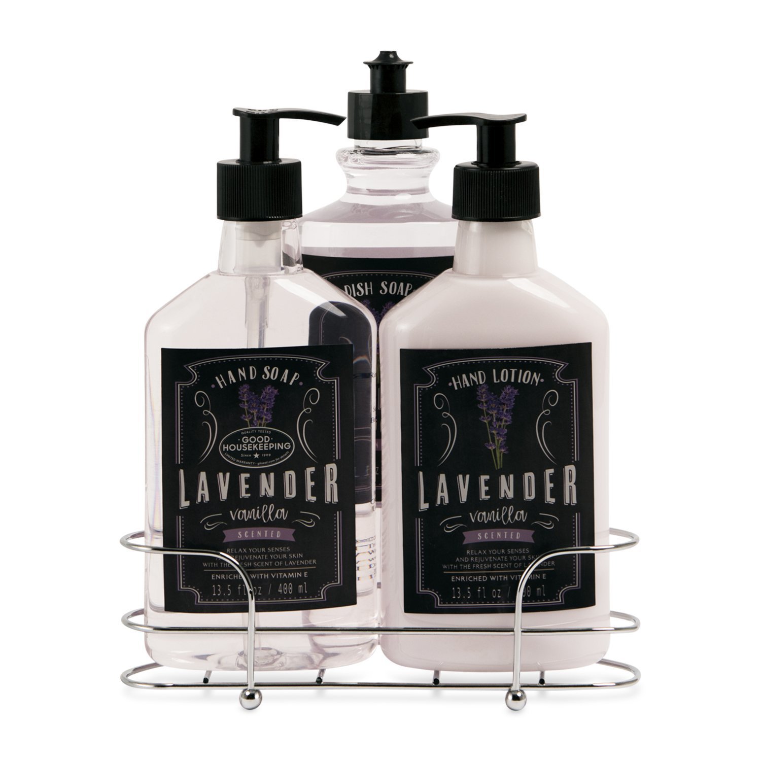 Lavender Vanilla Kitchen Soap and Lotion Gift Set