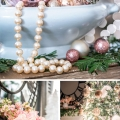 Tidbits&Twine Pink Elegant Christmas Bedroom