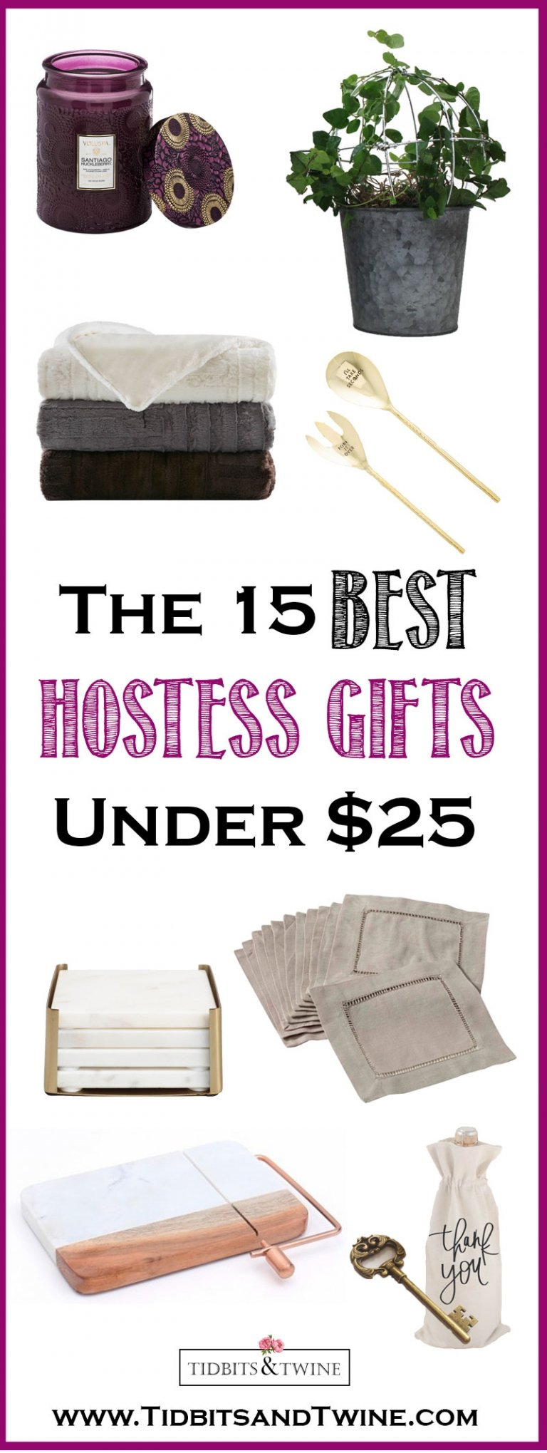 15 of the Best Hostess Gifts – Under $25