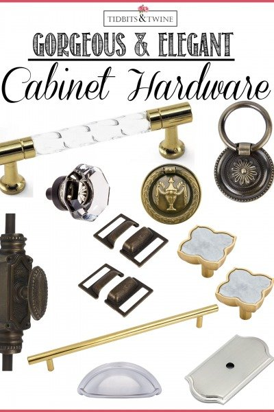 10 Beautiful & Elegant Cabinet Hardware Options