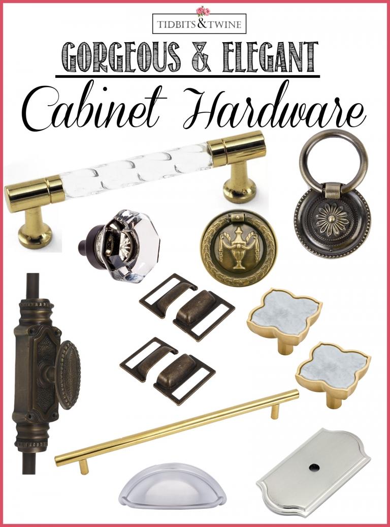10 Beautiful & Elegant Cabinet Hardware Options