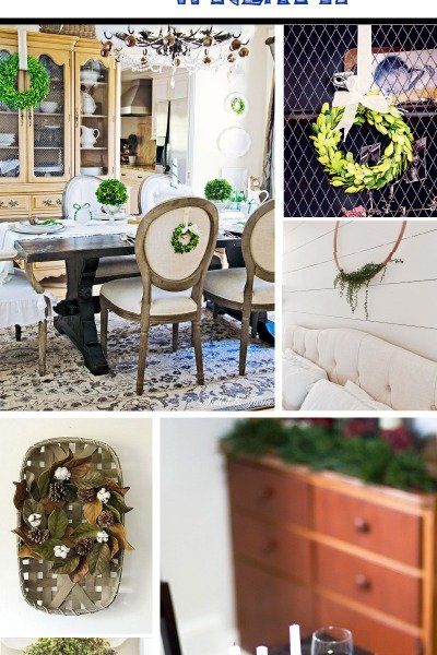 12 Creative Ideas for Decorating with a Wreath