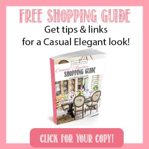 Casual Elegance Shopping Guide