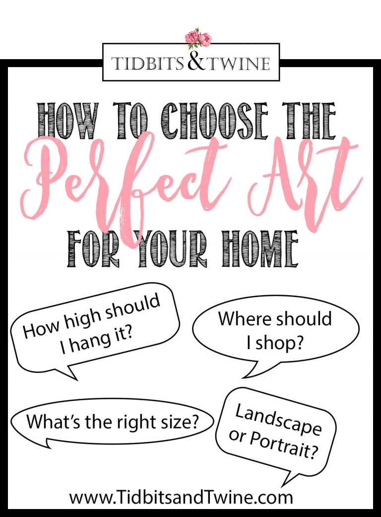 How to Choose The Perfect Art for Your Home