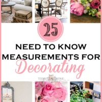 25 Need to Know Decorating Measurements