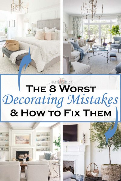 8 Common Decorating Mistakes and How to Fix Them