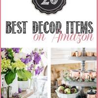 best amazon decor items from Tidbits&Twine