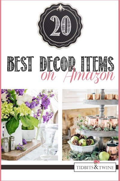 best amazon decor items from Tidbits&Twine