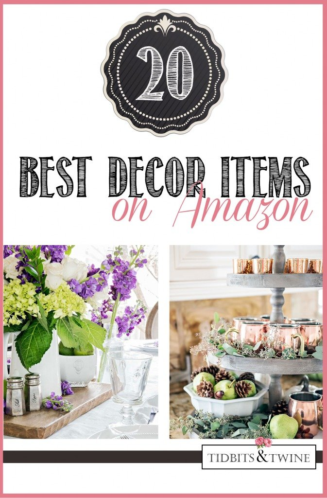 The 20 BEST decor items available on Amazon for every room of the home!
