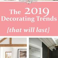 2019 Decorating Trends