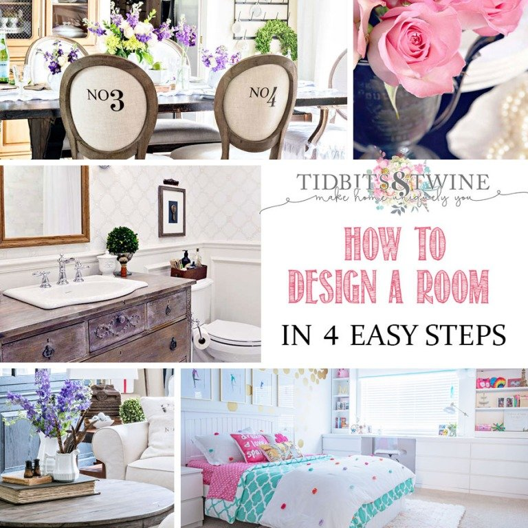 How to Design a Room {in 4 easy steps}