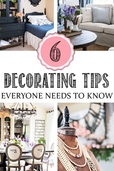 The 6 Decorating Tips Everyone Needs to Know