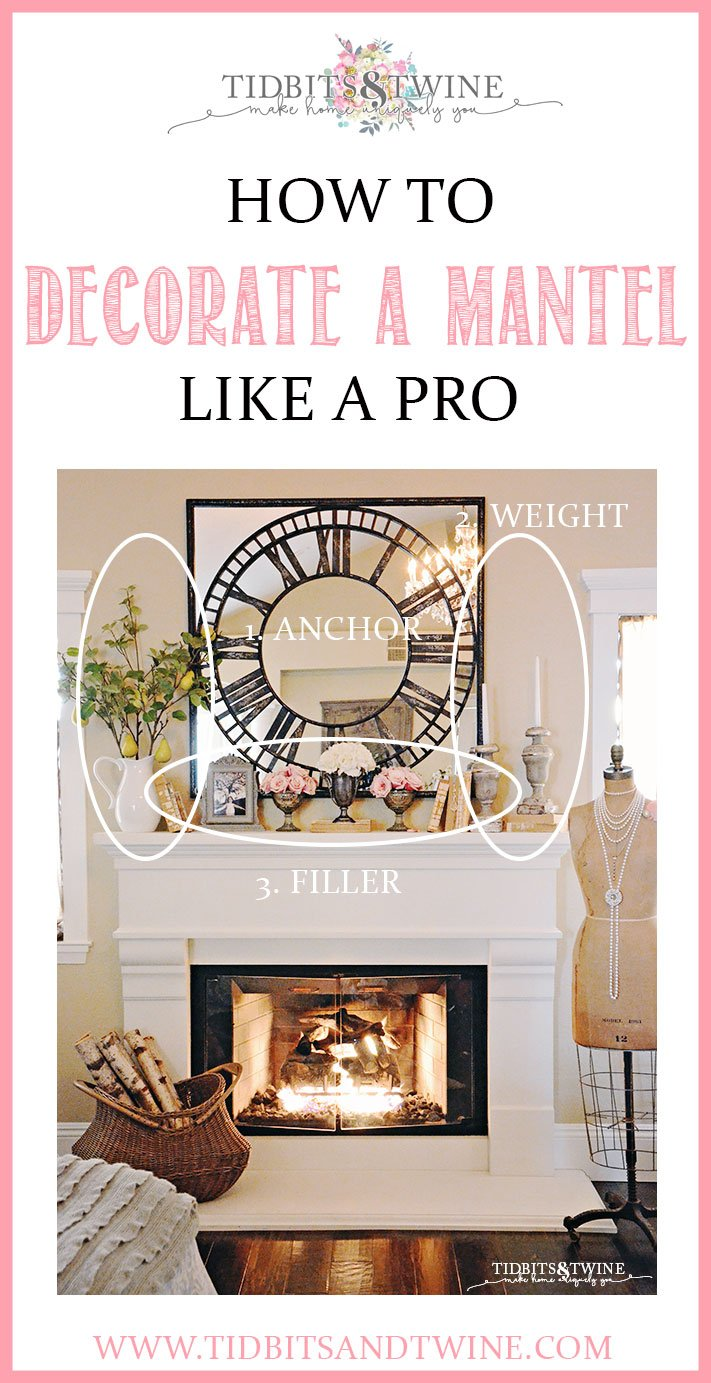 How to Decorate a Mantel Like a Pro with these easy steps and example ideas