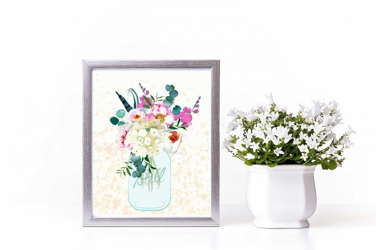 A Spring Printable Just Because…