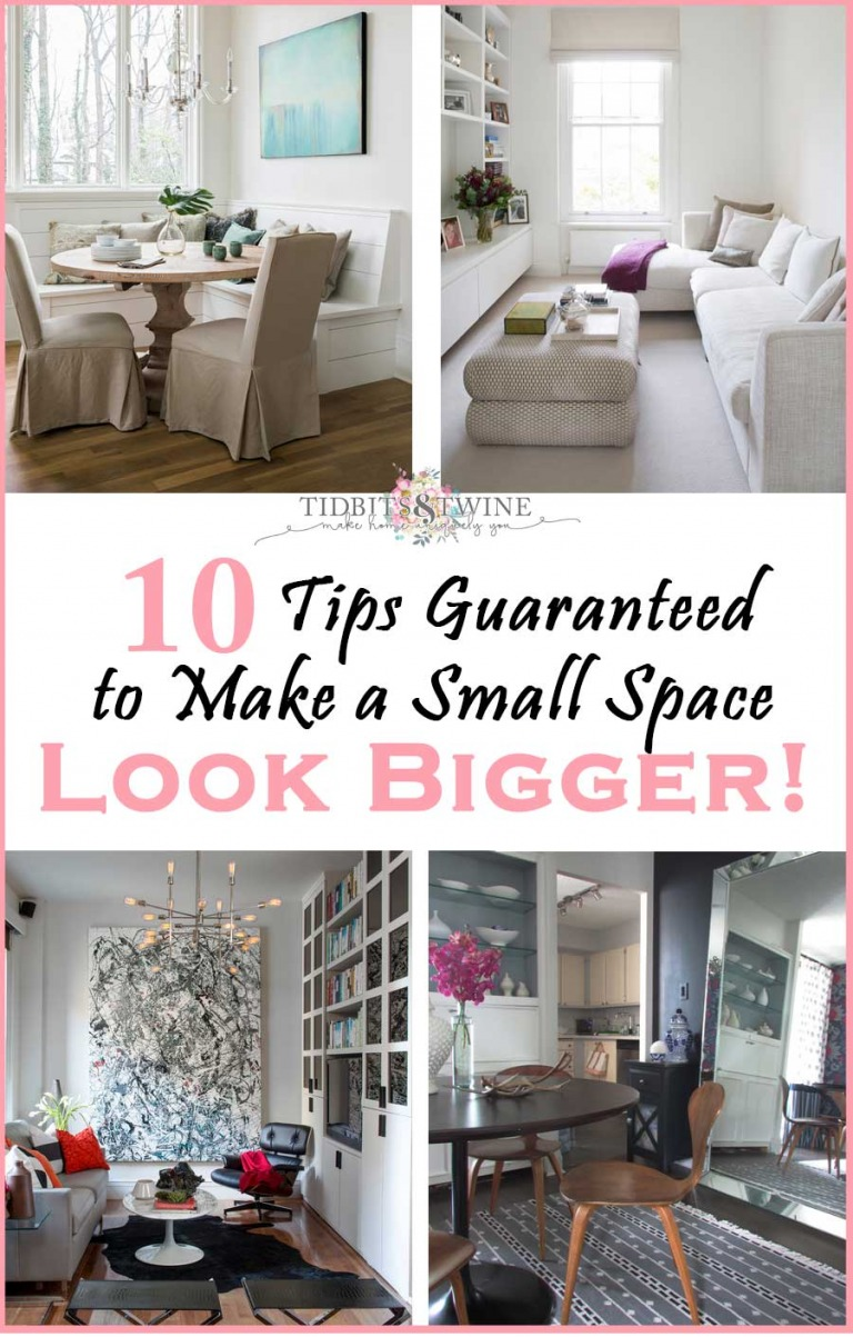 10 Tips Guaranteed to Make Your Space Feel Bigger