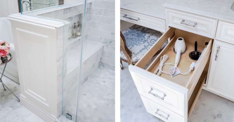 Clever bathroom storage ideas to maximize space!