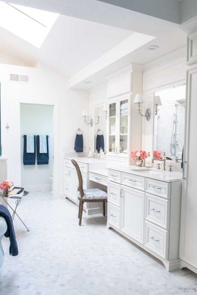 One Room Challenge: French Elegant Master Bathroom REVEAL