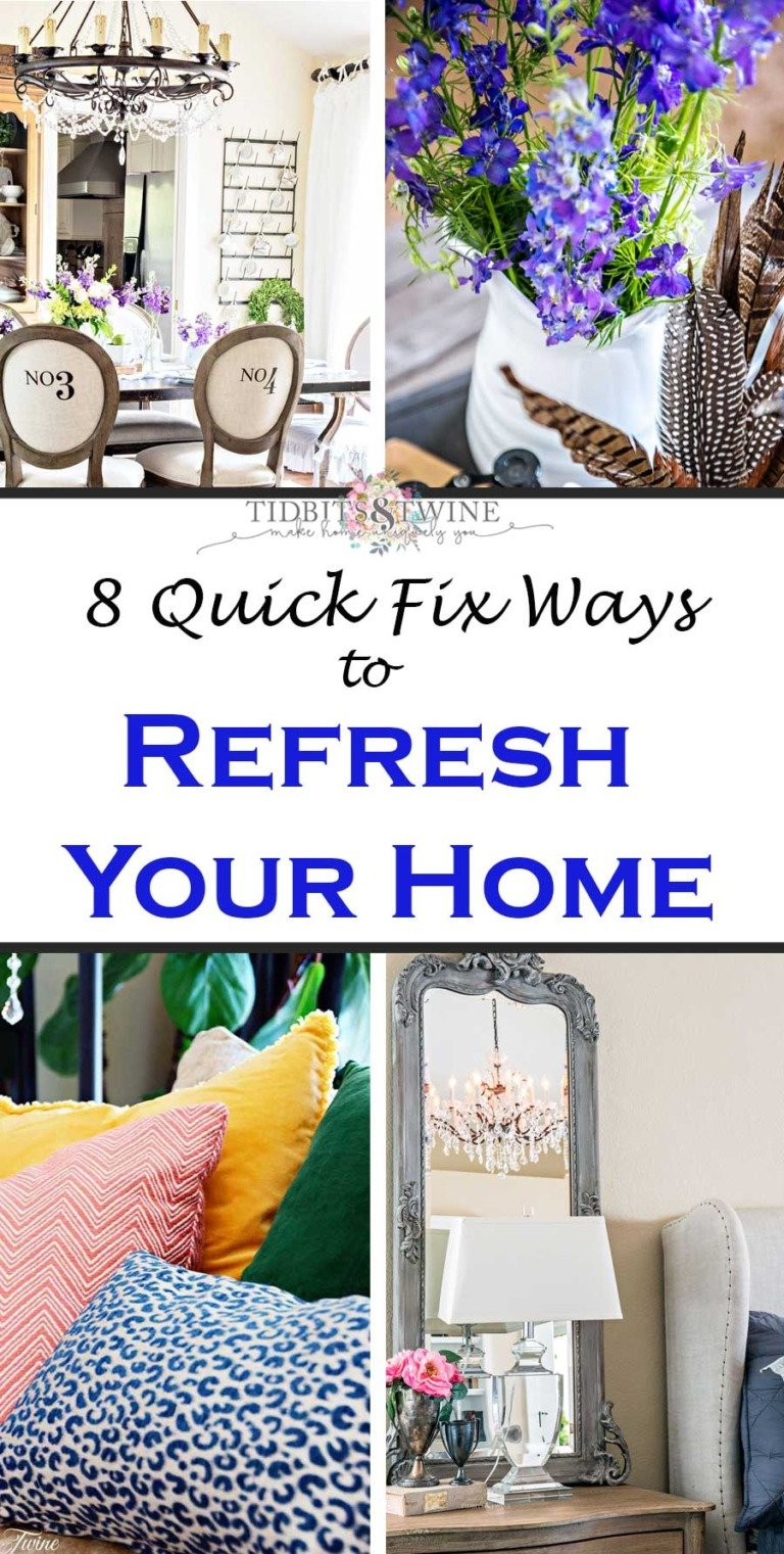 8 easy ideas for an instant home refresh