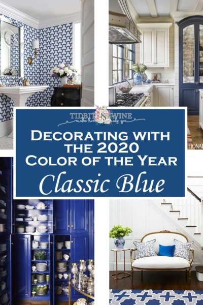Decorating with Classic Blue