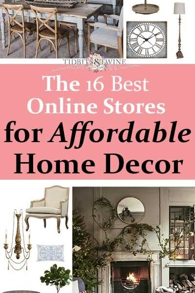 16 Best Online Stores for Affordable Home Decor
