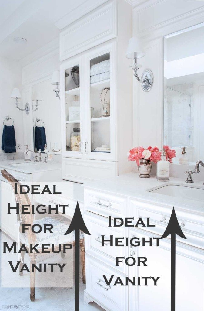 Learn the need-to-know measurements for a bathroom white carrara bathroom