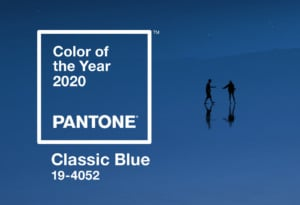 pantone's 2020 color of the year classic blue