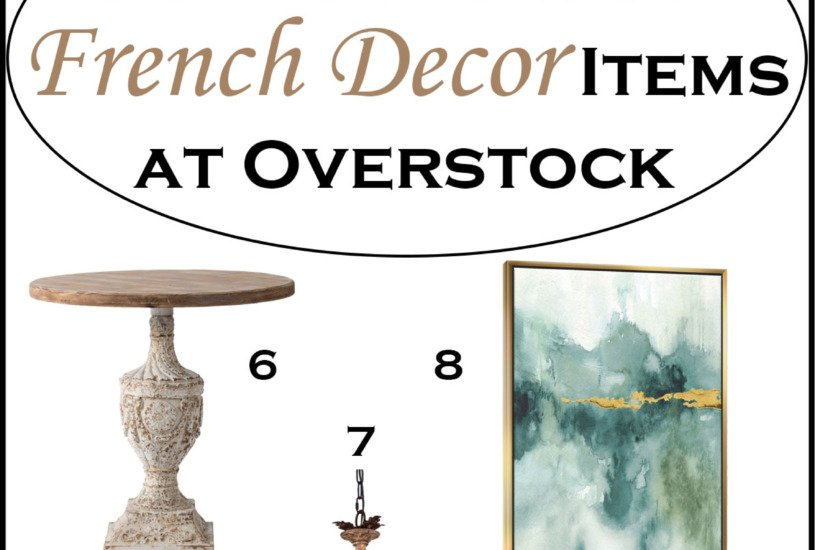 50+ Gorgeous French Decor Items at Overstock