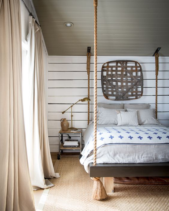 Ideas for How to Decorate Above the Bed Tidbits&Twine - Tobacco Basket