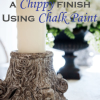 How to Create a Chippy Finish Using Chalk Paint