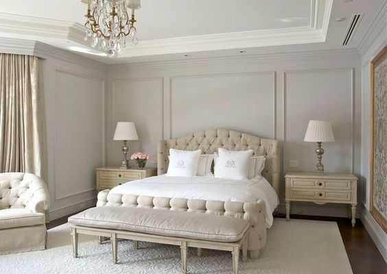 Ideas for How to Decorate Above the Bed Tidbits&Twine - Grey Wall Paneling
