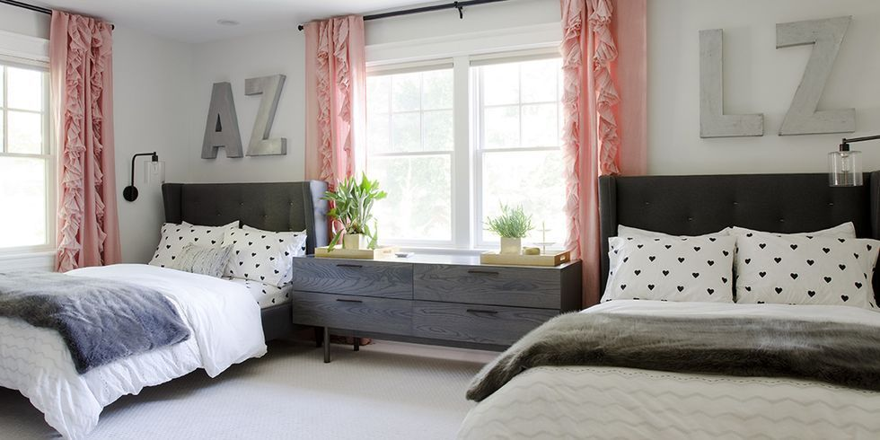 Ideas for How to Decorate Above the Bed Tidbits&Twine - Oversized Metal Initials