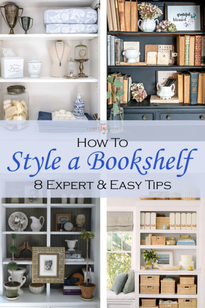 How to Style a Bookshelf – 8 Expert & Easy Tips