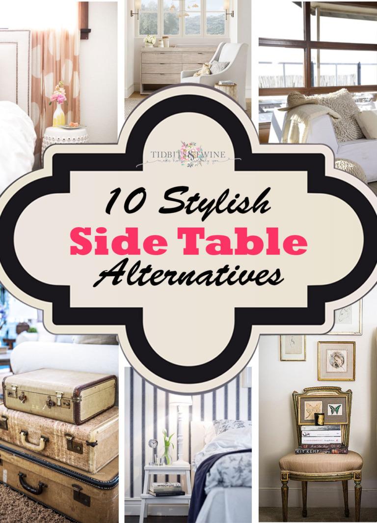 10 Stylish Side Table Alternatives