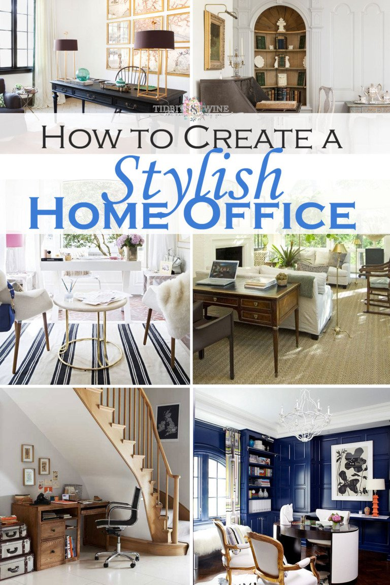 10 Tips to Create a Stylish Home Office