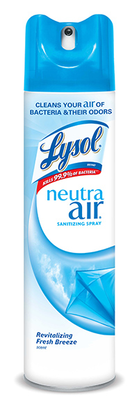 Closeup of Lyson Neutra Air can