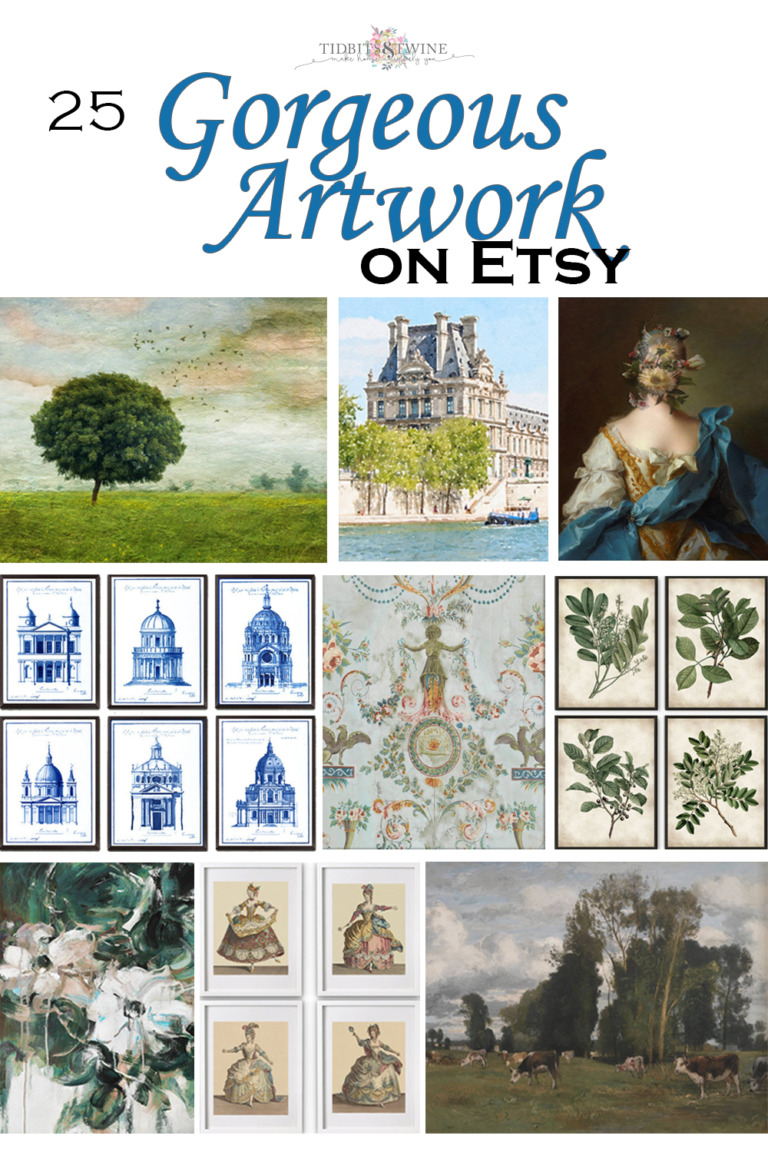 Gorgeous Artwork on Etsy – 25 Favorites for Every Room of Your Home