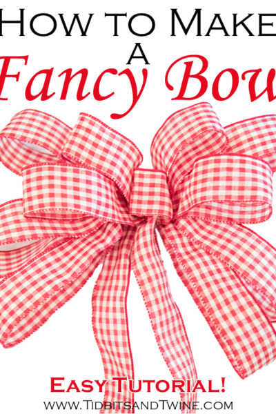 French Country Fridays 148 – How to Make a Fancy Bow