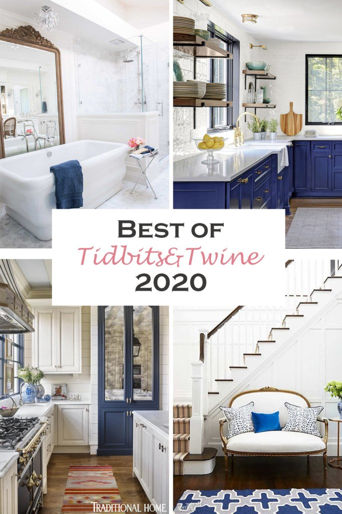 Collage of home images for the Best Posts of 2020 from Tidbits&Twine