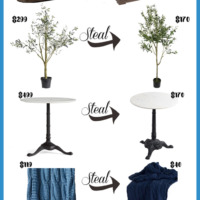 Stylish Home Décor Steals: The Look for Less Part 4