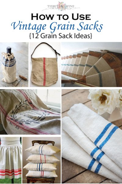 How to Use Grain Sacks: 12 Gorgeous Ideas for Your Home