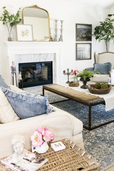 Simple Spring Decorating Ideas for the Living Room